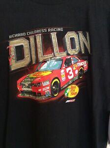 NASCAR Ty Dillon #3 T-Shirt-Black Red Camaro Richard Childress Racing Youth L