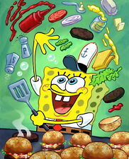 "02 Spongebob - SquarePants Animated Childen TV Show 24""x30"" Poster"