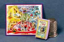 Dollhouse Miniature 1:12  Wonderful Game of Oz  1920s Dollhouse Oz game toy