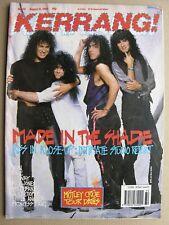 More details for kerrang 251 aug 12 1989 kiss vain rage leeway mick jones wolfsbane alice cooper