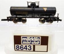 Z Scale Marklin Mini-Club 8643 Gatx Tank Car
