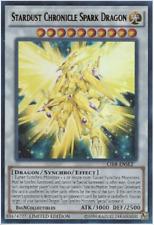 Yu-Gi-Oh!- 3X CIBR-ENSE1 - Stardust Chronicle Spark Dragon - Super Rare - NM/M