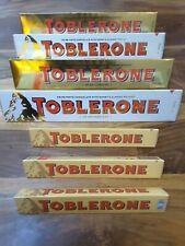 Toblerone 4 x 360g 3 x 100g  Swiss White Chocolate  + Milk Chocolate