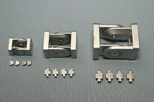 Aluprofil Gelenkverbinder 20 / 30 / 40 Nut 6/ 8 Profilverbinder Alu mit Gelenk K