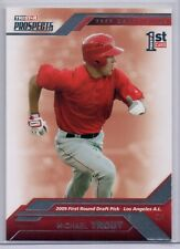 2009 TRI-STAR PROSPECTS DRAFT PICKS #20 MIKE TROUT ROOKIE RC ANGELS