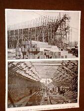 WW1 1a guerra mondiale Flotte mercantili nel 1918 Navi in legno fatte in America