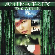 "JUNKIE XL - MEAT BEAT MANIFESTO - JUNO REACTOR ""ANIMATRIX THE ALBUM"" GERMAN CD"