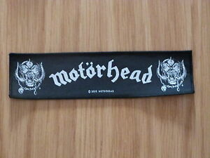 MOTORHEAD - WARPIG (NEW) SEW ON STRIPPATCH OFFICIAL BAND MERCHANDISE
