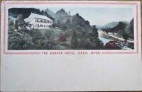 Nikko, Japan 1910 Hand-Colored Postcard: ''The Kanaya Hotel''