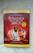 Encyclopedia Britannica 2005 (PC / MAC CD ROM) DELUXE EDITION (New sealed )