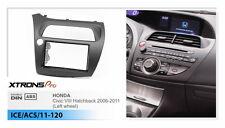 2 Din Radio Fascia Adaptor Facia Dash Trim for HONDA Civic Hatchback 2006-11