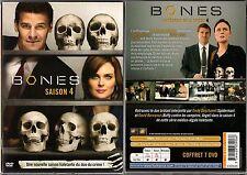 BONES - Intégrale saison 4 - Coffret 1 boitier Classique Large - 7 DVD