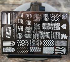 Gran Arte en Uñas Imagen Estampar Planchas para Estampar Manicura Plantilla Polaco imagen (D21)