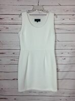 Sunday in Brooklyn Anthropologie Women's L Large White Spring Summer Cute Dress