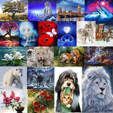 5D DIY Dog Wolf Tiger Diamond Painting Embroidery Cross Stitch Kits Decor Craft