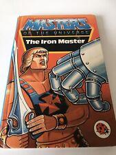El maestro de hierro 1984 libro He-man Amos Del Universo Amos del universo #4