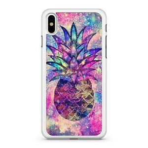Pattern Filled Space Pineapple Twinkling Milky Way Galaxy Sky Phone Case Cover
