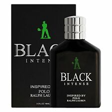 Inspired By Polo Black Cologne, Black Intense For Men Perfume 3.0 Fl. Oz./ 90 ml