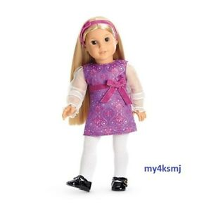 American Girl JULIE'S Purple HOLIDAY Christmas OUTFIT Dress DOLL NOT Included