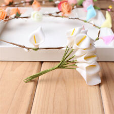 144PCs/lot Calla Lily Party Decoration Craft PE Foam Flower Wedding Accessories