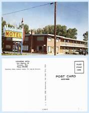 Vagabond Motel Hwy 30 Evanston Wyoming c1960 Retro Advertising Building Postcard