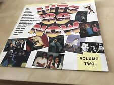 Hits '89 Now Vol.2 LP (16 tracks)- Poison,Noiseworks,Bon Jovi,1927,Kiss,Yazz