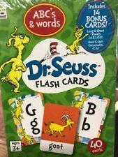 Dr. Seuss Flash Cards - Abc's & Words