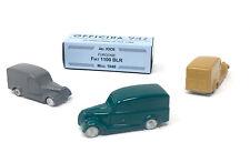Officina 942 - Fiat 1100 BLR - metallo, scala 1:76 - nuovo in scatola