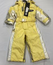 Colmar Tutu Infants Snowsuit Yellow Hooded Girls Size UK 12 Months *REF157