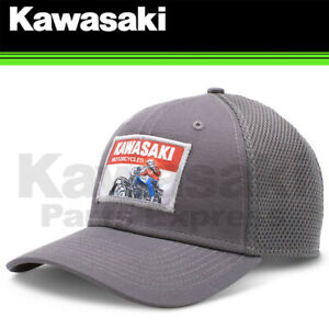 NEW KAWASAKI LG/XL NEW ERA© 9FIFTY KAWASAKI HERITAGE LOGO OLD SCHOOL SIGN CAP