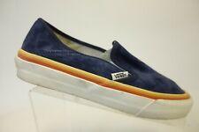 VANS Suede Blue Sz 8.5 Women Slip-On Loafers