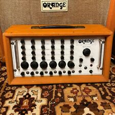 Vintage 1970s Orange 6 Channel Solid State PA Mixer Amplifier Amp Working *RARE*