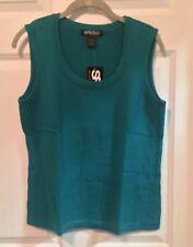 NWT Turquoise Sweatervest By Spirited/Randolph Duke Size Large