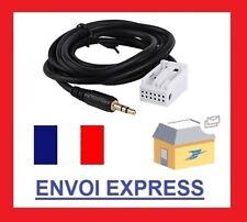 Cable auxiliaire adaptateur mp3 iphone autoradio BMW E83 à partir de 2004 aux