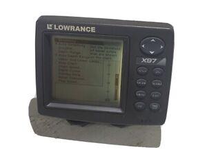 LOWRANCE X97 Fishfinder Sonar Depth Alarm Head Unit Tested *30 DAY WARRANTY*