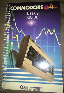 Commodore 64 Users Guide for Commodore 64 Used