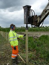 Half Round Fencing Rails = HIRE Post Knocker / Driver / Rammer Norwich Norfolk