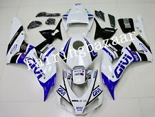 Fit for CBR1000RR 2006 2007 GIVI Blue White  ABS Injection Mold Fairing Kit