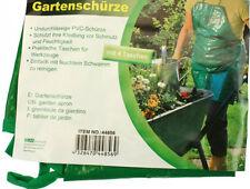 Gartenschürze - Grün - Garten Schürze mit Tasche - 59x48cm- von Best Choice