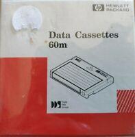 Data Cassette Tapes Box Of 5 x 60 meter HEWLETT PACKARD Sealed Box