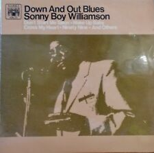 SONNY BOY WILLIAMSON - DOWN AND OUT BLUES. 1966 UK ISSUE MAL662