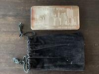 Mint WSM Ten 10 Troy oz. Ounce Wall Street Mint .999 Fine Silver Bar