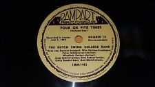 "DUTCH SWING COLLEGE BAND Four Or Five Times/ Sister Kate NM! 10"" 78 Rampart 12"
