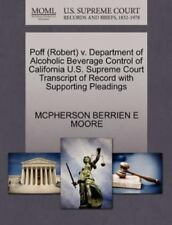 Poff V. Department of Alcoholic Beverage Control of California U. S. Supreme...