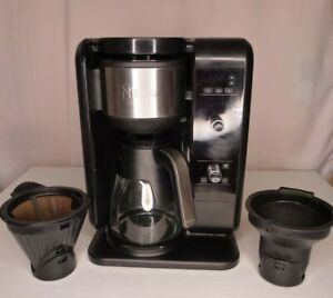 Ninja Hot & Cold Brewed Coffee Tea System w/ Glass Carafe & Milk Frother CP301A