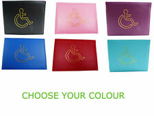 Disabled Badge Holder Parking Permit Display Cover Wallet MANY COLOURS
