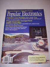 POPULAR ELECTRONICS Magazine, JUNE 1990, MISSION CYRUS TWO INTEGRATED AUDIO AMP!