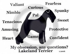 Lakeland Terrier Dog My Obsession,Questions? T-shirt ,Ls, or Sweatshirt Choices