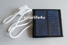 0.6W 5.5V Mini Solar Panel Module Solar System Epoxy USB Charger DIY B007 S