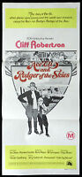 ACE ELI AND ROGER OF THE SKIES Cliff Robertson Australian daybill Movie poster